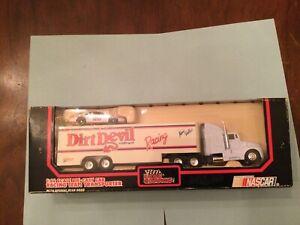 NASCAR Diecast AJ Foyt & Kenny Wallace transporter black box 91-2 dirt devil