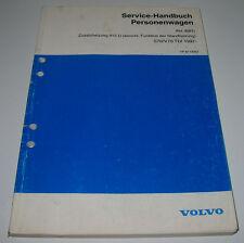 Werkstatthandbuch Volvo S70 / V70 TDI Zusatzheitzung Funktion Standheizung ab 97
