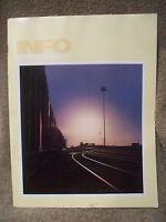Union Pacific Railroad Employees INFO Magazine 9/1977