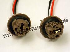 7443 Bulb Socket Brake Turn Signal Light Harness Wire GM Pig Tail Plug 7443LL