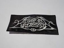 KEEP OF KALESSIN LOGO BLACK METAL EMBROIDERED PATCH
