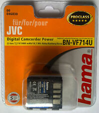 046830 hama° für JVC BN-VF714U GR-D GR-DF GR-X5E Everio GZ-MG Digital PROCLASS