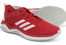 Mens Adidas Speed Trainer 4 Red Sport Running Athletic Shoe CG5136  NEW