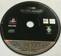 The Fifth Element / Rare Full Game Promo Version / PS1 Playstation 1 PS2