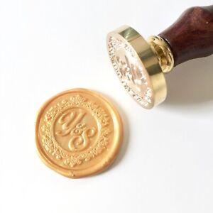 Personalized Vintage Frame Design Wax Seal Stamp