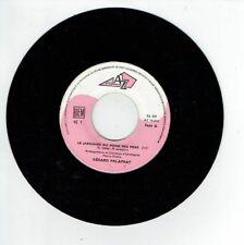 """Gérard PALAPRAT Vinyle 45T 7"""" LE JARDINIER DU FOND DES MERS -..CE PAYS-LA AZ 229"""