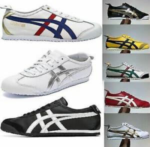 Unisex Asics Onitsuka Tiger Mexico 66 Freizeit Schuhe Sneaker Leder Turnschuhe