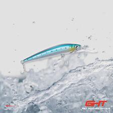 Saltwater Trolling Fishing Hard Bait Lure Crankbait Bass Tackle Hook Wobbler 75g