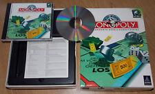 Computerspiel Game Hasbro Monopoly Original CD + Hülle Win 3.11 95 98 2k XP 7 32