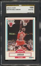 1990-91 Fleer Michael Jordan #26 SGC 100 PRISTINE ~ Gold Label