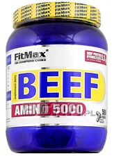 FITMAX ® BEEF AMINO 5000 | 500 TABLETS PURE STRONG BEEF PROTEIN HYDROLYZATE !