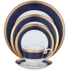 Noritake Odessa Cobalt Gold 40Pc China Set, Service for 8