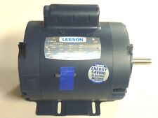 NEW LEESON CAPACITOR-START MOTOR 1/3HP, 1425 RPM, 110/220V, Frame: 56, 114223.00