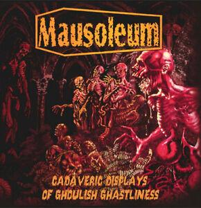 MAUSOLEUM - Cadaveric Displays of Ghoulish Ghastliness  [12″ VINYL LP]