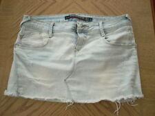 Zara Cotton Extra short, Micro-mini Casual Skirts for Women