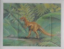Dinosaurs Prehistoric animals Tyranosaurus Rex Guinea s/s #M107