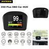 AUTOOL X50 Plus OBD Car HUD Speedometer Overspeed Alarm Meter Gauge Code Reader