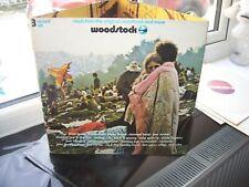 JIMI HENDRIX, THE WHO , WOODSTOCK . LP , SUPERB EX.