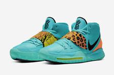 Nike Kyrie 6 'Oracle Aqua' Basketball Shoes Mens Sizes Animal Print BQ4630-300