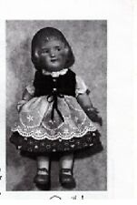 "Small Doll Pattern ~ 5-3/4"" Heubach Doll ~ Heidi Ps503 Pdf"