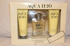 Aqua H2O 2 IN 1 Body Wash Shampoo gel, Eau de Cologne, After Shave Balm
