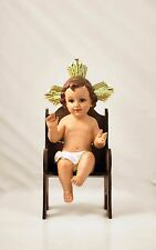 """8"""" CHRISTMAS NATIVITY SCENES BABY JESUS SITTING IN A CHAIR"""