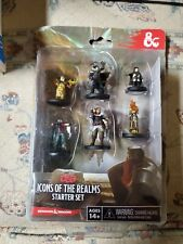 Dungeons & Dragons Icons Of The Realms Starter Set 2014 Drizzt - Brand New!!!
