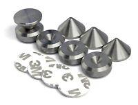 Montage-Pad Selbstklebend PrecisionGeek Shwarz Aluminium 4X Lautsprecher Spikes//Boxen Spikes