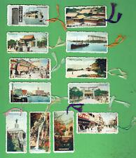 #D297.  TWELEVE (12)  JAPANESE BOOKMARKS / BAG TAGS