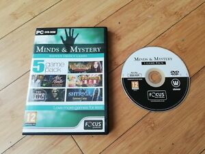 Minds and Mystery - 5 Game Pack (PC DVD), Good Windows XP, Windows Vista
