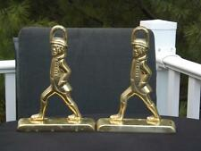 Virginia Metalcrafters Williamsburg Brass Hessian Soldiers Bookends Door Stopper