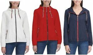 Tommy Hilfiger Ladies Windbreaker  Hooded Jacket