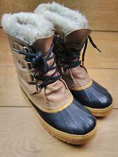 Women's Sorel Winter Snow Boots US 8 UK 6