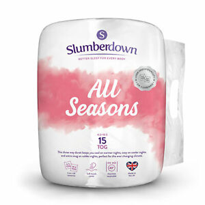 Slumberdown 3 in 1 Combi 15 Tog (10.5 + 4.5 Tog) All Seasons Duvet