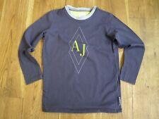 47911ad70 Armani Junior navy long sleeve t shirt size 6 years