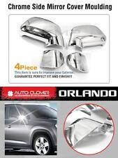 Chrome Side Mirror Cover Molding Garnish Trim For CHEVROLET 2010-2017 Orlando