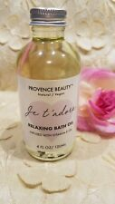 Provence Beauty-Relaxing Bath Oil-Natural/Vegan-Infused With Vitamin E Oil-4 Oz.