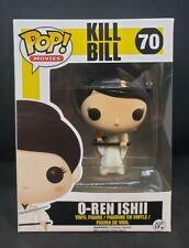 Funko Pop! Movies: Kill Bill O-Ren Ishii #70 Vaulted/Retired w/ Protector