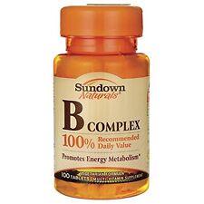 Sundown Vitamin B Complex Complete Tab 100 ct