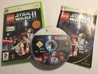 XBOX 360 LEGO GAME STAR WARS II THE ORIGINAL TRILOGY +BOX INSTRUC'S COMPLETE PAL