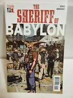 SHERIFF OF BABYLON#1 2016 TOM KING FIRST PRINT VERTIGO/DC COMICS, 🔥