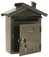 DISRAELI Cassetta Porta Lettere in Ferro 30,5x14,5x34,5cm