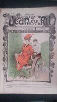 Revista Jean Que Rit N º 383 1908 Journal Demuestra que Aparecen El Viernes ABE
