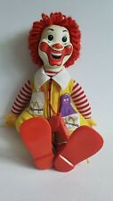 Vintage 1978 Ronald McDonald Plush Doll with Whistle - WORKING WHISTLER - Toot