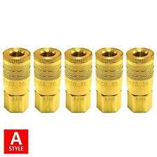 "1/4"" A Style Air Hose Fittings Aro 210 Quick Connect Couplers Tools Compressor"