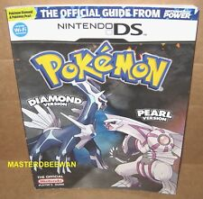 Pokemon Diamond And & Pearl Version Official Strategy Guide Book Nintendo DS New