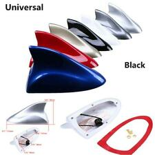 Universal Car Exterior Shark Fin Antennas Radio Signal Aerial Auto SUV Van Black