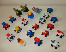LOt de petits jouets véhicules Vintage NESQUIK Groquik cadeaux publicitaire