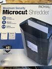 Royal Maximum Security Microcut Shredder