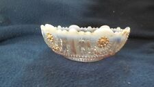 """EAPG - Northwood - """"Jewel and Flower"""" (3) individual sauce bowls"""